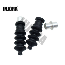 1PCS RC Boat Aluminium fittings and Rubber Bellows Radio Box Seals Ideal for Servo Push Rod Seal to Rudder(China)