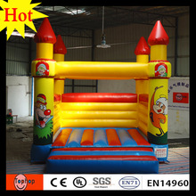 Free shipping! outdoor commercial toys kid giant inflatable bounce house 0.55mm PVC tarpaulin air constant bouncy castle(China)