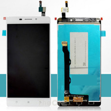 5.5 inch For Lenovo A5600 LCD Display+Touch Screen Original Screen Digitizer Assembly Replacement For Lenovo A5600 Cell Phone(China)