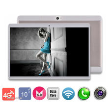3-28 Discount 10 inch 4G LTE Tablet PC Android 6.0 RAM 4GB ROM 64GB Dual SIM Cards 1920*1200 IPS 10.1 inch GPS Tablet+Gifs