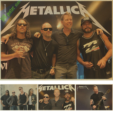 rock music metallica band retro Kraft independent avant-garde heavy metal rock poster bar student hostel retro poster