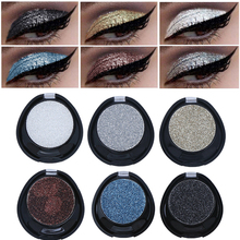 New Makeup Eyes Glitter Diamond Shining Single Eyeshadow White Blue Color Pigments Waterproof Shimmer Eye Shadow Make Up