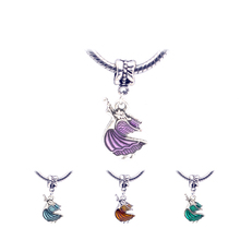 Hot products bracelet pendant Oil Drop Pendant Bracelet DIY alloy butterfly accessories for female fashion