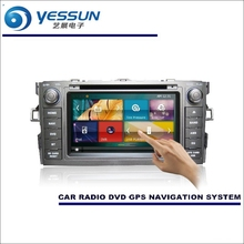For Toyota Auris / Scion iM / Corolla 2012~2016 Car Radio CD DVD Player Amplifier HD TV Screen GPS Navigation Audio Video System(China)
