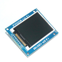 Smart Electronics 1.8 Inch 128*160 Serial SPI TFT LCD Module Display + PCB Adapter Power IC SD Socket for Arduino 1.8'' 128x160(China)