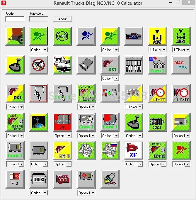 RENAULT TRUCKS DIAG NG3/NG10 CALCULATOR v0.1 UNLOCK unlimited install<br><br>Aliexpress