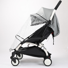 Babytime Universal baby stroller accessory Baby carriages rain cover good quality cheap price baby rain coat car-covers R01(China)