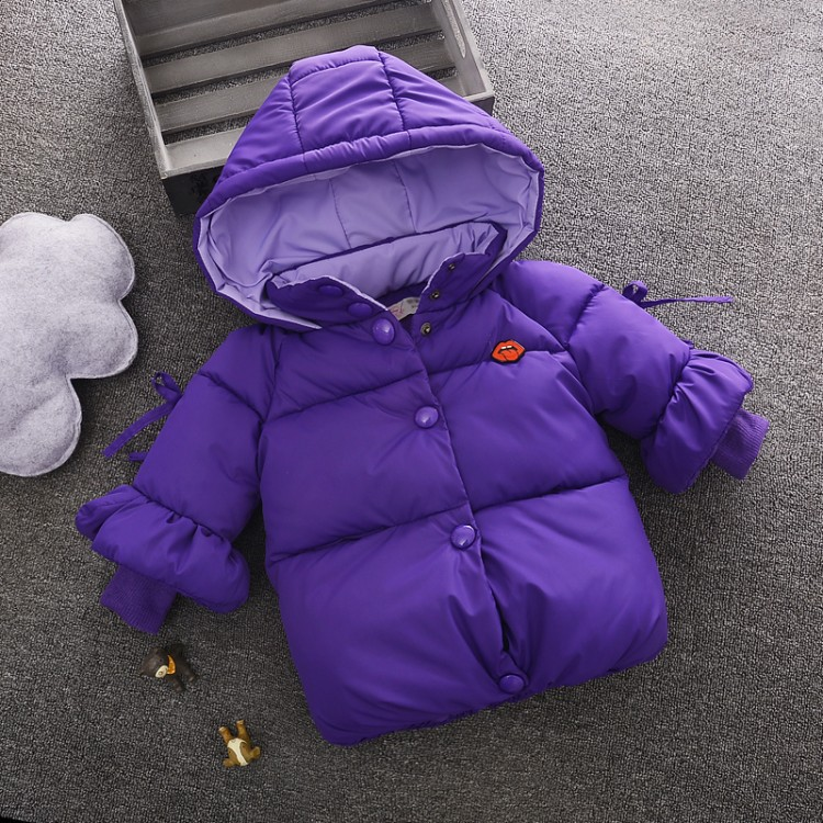Children Jackets Boys Girls Winter Down Coat 2017 Baby Winter Coat Kids Warm Outerwear Hooded Coat for 2-7 Yrs Children Clothes<br>