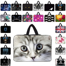 "Hot Sale 17 Inch 15"" 14"" 13"" 12"" 10"" Unisex Neoprene Laptop Bag Brand Viviration Notebook Computer Cover Cases Shockproof Pouch"