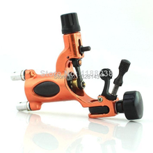 Orange color HOT sale New 2015 High quality Pro Dragonfly Style Rotary Liner Shader Tattoo Machine free shipping(China)