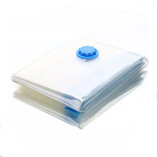2017 The Space Saver Vacuum Seal Transparent Plastic quilt Clothes Socks classification Storage Bags household Storage Organizer(China)