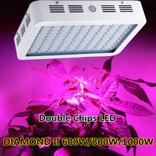 DIAMOND 600W 800W 1000W 1200W 1500W 1600W 1800W 2000W Double Chip LED Grow Light Full Spectrum Red/Blue/UV/IR For Indoor Plant(China)