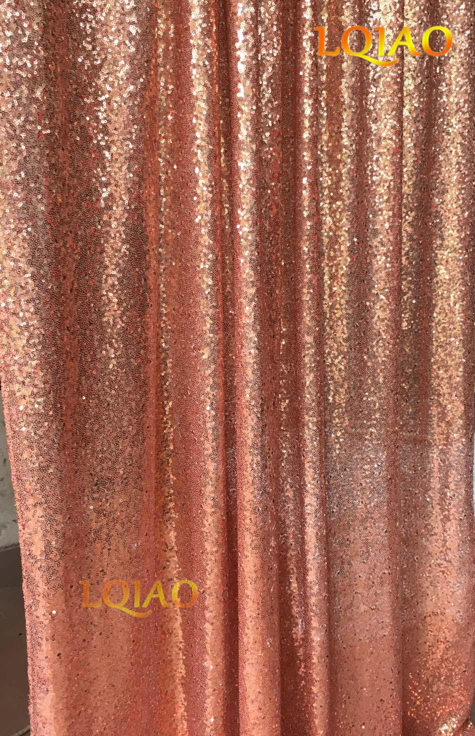 Rose Gold Sequin Backdrop-007