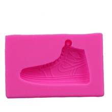 Cartoon sports shoes cooking tool decoration Board shoes Silicone mold baking Fondant Sugar Craft Molds DIY Cake fimo F0769