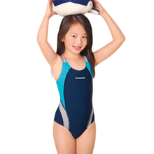New One Piece Swimming Suit Girls Sports Swimsuit For Children Professinal Training Swimwear New Brand Clothes Summer SW276-CGR3(China)