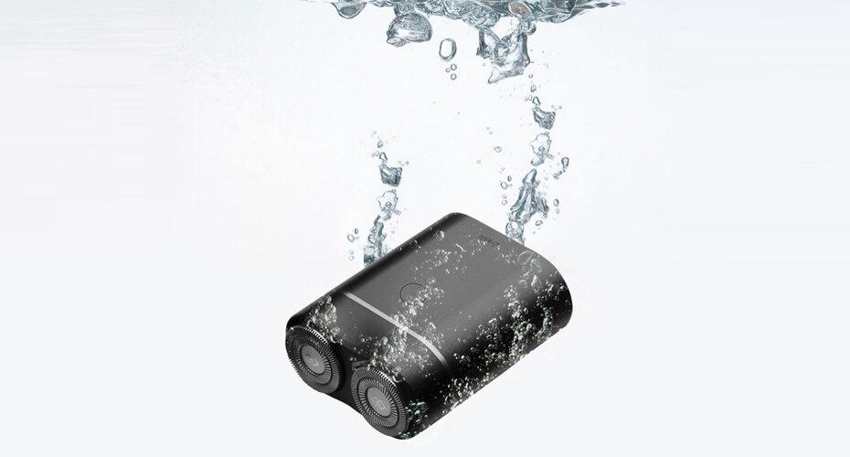 Xiaomi ZHIBAI Mini Electric Shaver Washing Razor Japan Steel German Technical Moto Waterproof Rechargeable WetDry Shaving IPX7-44