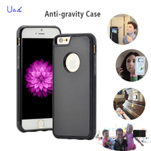 UVR Anti Gravity Selfie Hybrid Magical Nano Sticky Anti gravity Cover Case For iPhone 7 7 Plus 6 6S plus SE 5 5S Anti-gravit(China)