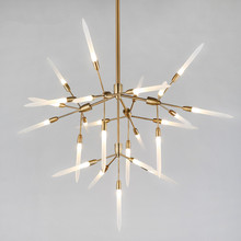New Modern Nordic LED chandelier For Living Room Dinning Room Office Haning Lamp Lustre villa lamps Light Fixtures Fitting(China)