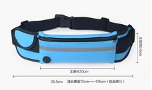 Running bag for Mobile phone Cell phone pocket Phone Pockets of women Waist bag Casual Waist Pack bag Waterproof Bags(China)