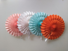 Wedding Decorations 20cm Hollow Out Paper Folding Fan DIY Wedding Party Birthday Kids Supplies Paper Fan Flowers Bady Shower