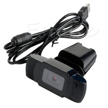 TOP SALE! 12 Megapixels USB 2.0 Webcam HD Camera with Microphone for Computer Laptop PC Black Color
