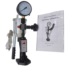 SHUMATT Common Rail Tool S60H Diesel Fuel Injector Nozzle Tester Validator With 0 - 400 BAR / 0 - 6000 PSI CRT012(China)