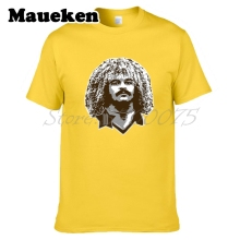 Men Child Carlos Valderrama #10 Colombia Legend Captain T-shirt Clothes T Shirt Men's o-neck tee W17072605(China)
