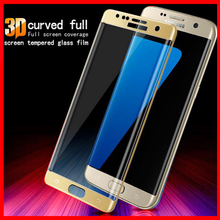 s7 edge For Samsung Galaxy S6 Edge Case s7 S8 Tempered Glass For Samsung S 7 S 6 Edge S 8 Screen Protector 3D Full Cover Film