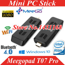 MeeGopad T07 Pro Mini PC stick Intel Atom Cherry Trail x5-Z8300 Quad-core CPU 4GB 32GB 2.4 WiFi Bluetooth UBUNTU OS
