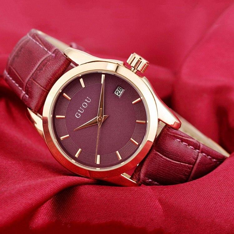 2016 New Luxury Ladies Fashion Quartz Watches Leather Young Women Gold Watch Casual Dress Calendar Wristwatch Relogios Feminino<br><br>Aliexpress