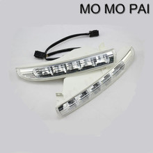 Car styling  2PCS Super Bright daytime running lights DRL fit for VW PASSAT CC 2009-2012 replace turn signal