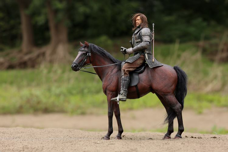 "IN STOCK MrZ 1//6 Scale Germany Hannover Horse Hanoverian Animal Model 12/"" Figure"