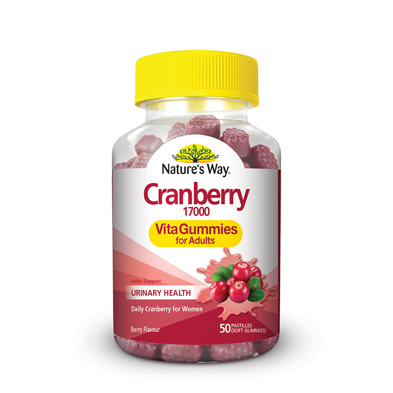 Nature Adult Gummies Cranberry, women health to support urinary tract health, Improve Immunity, reduce recurrent cystitis<br><br>Aliexpress