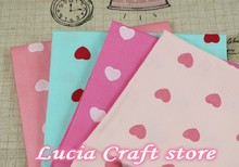 Lucia Crafts 50*50cm Cotton Quilts Fabric for DIY Sewing Patchwork Kids Bedding Tilda Doll Textiles Fabric D20020001(50*50D1)