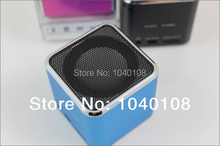 Quality Music Angle Computer Mini Portable Speaker with TF card slot, Retail Box and Free Shipping