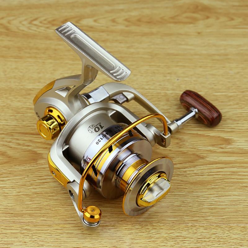 FDDL Metal Fishing Reel Baitingcasting Reel 5.51 EF1000-7000 10BB Lake Ocean Ice Fishing Gear Spinner Reel Fishing Coils (7)
