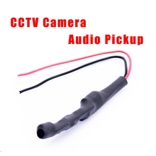 High Quality Hidden Type Audio Pickup Microphone Sound Monitor for CCTV System