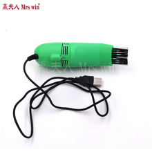 Universal & Newest Protable Mini USB Vacuum Keyboard Cleaner Dust Collector Laptop(China)