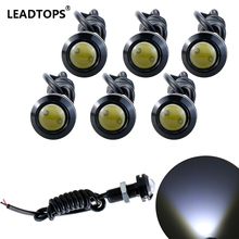 6pcs High Brightnes Eagle Eye Light 18/23MM LED DRL Daytime Running Lights For Car Work Light Waterproof Signal Parking Lamps AF