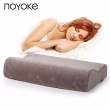 NOYOKE Comfortable Help Sleeping Pillow Cervical Health Care Slow Rebound Memory Foam Pillow Neck Protection Bed Pillow(China)