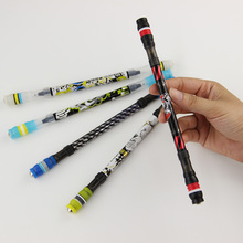 1 PC Penspinning Non Slip Coated Spinning Pen Champion Rolling Pen Ball Point Improve Chile'S Learning Office Supplies