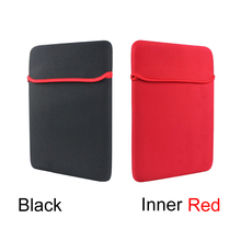 "Black/Inner Red Color Universal 7"" Mini PC Tablet Neoprene Sleeve Case Bag For Huawei Samsung Lenovo Xiaomi Apple 7 Inch Netbook"