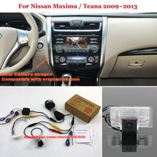 HD Car Rear View Back Up Reverse Camera Sets Night Vision For Nissan Maxima / Teana 2009~2013 - RCA & Original Screen Compatible
