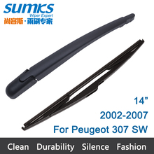 "New Rear Window Windshield Wiper Arm and Blade For Peugeot 307 SW (2002-2007) 14"" R14SW640"