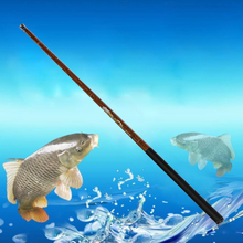 Ultralight Hard 3.8M/4.4M/5M/6M/6.8M Meters Stream Hand Pole Carbon Fiber Casting Telescopic Fishing Rods Fish Tackle(China)