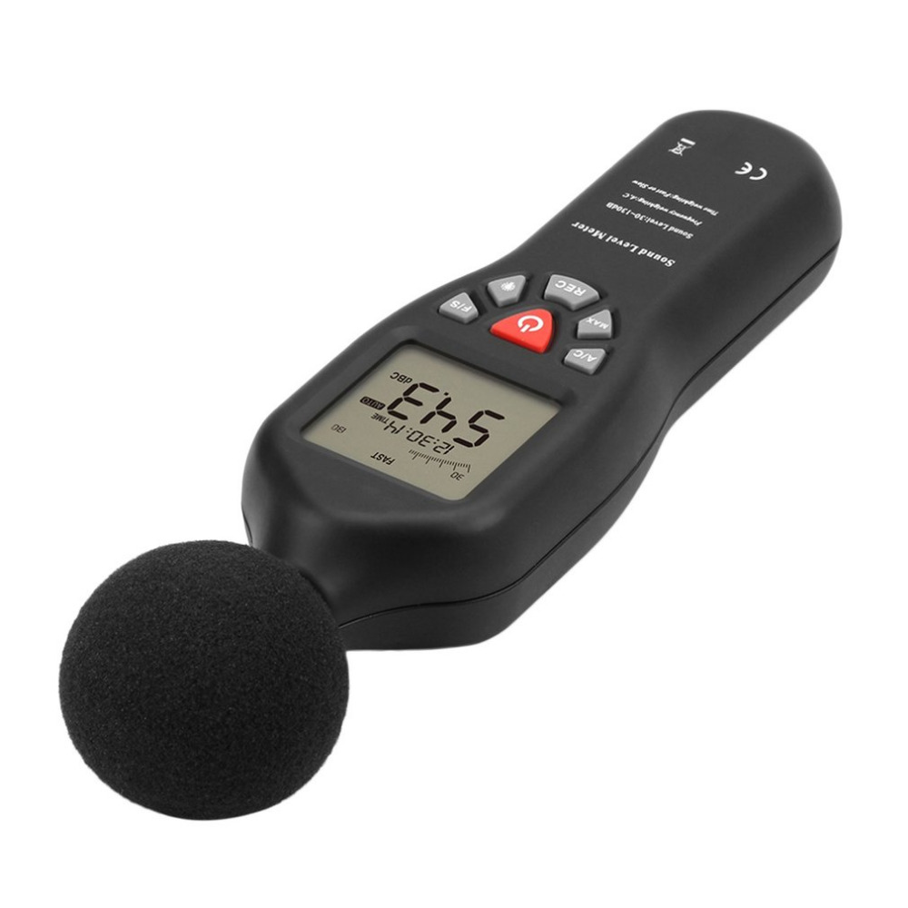 2018 USB High Precision Decibel Sensor Digital Sound Level Decibel Meter 30-130dB With Backlight 32000 Data Noise Measurement<br>