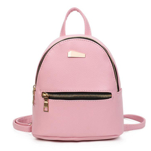 fashion Mini Backpack children School Bags For Teenage Girls leather small Backpack cute pink Back Pack woman Travel bags Girl