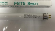 HITACHI F8T5 BLACK LIGHT 8W 8 WATT fluorescent lamp tube,8WATT 365nm UVA bulb(China)