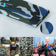 Polyester Cotton Camouflage Uniform Fabric,DIY Fire Clothes,Table Cloth Decoration Fabric S0695H(China)