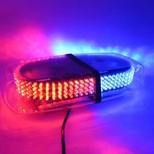 240 LED Car Rood Emergency Hazard Warning Mini Light bar Magnetic Strobe Flash Police Lights Lamp Red Blue Amber White Green(China)